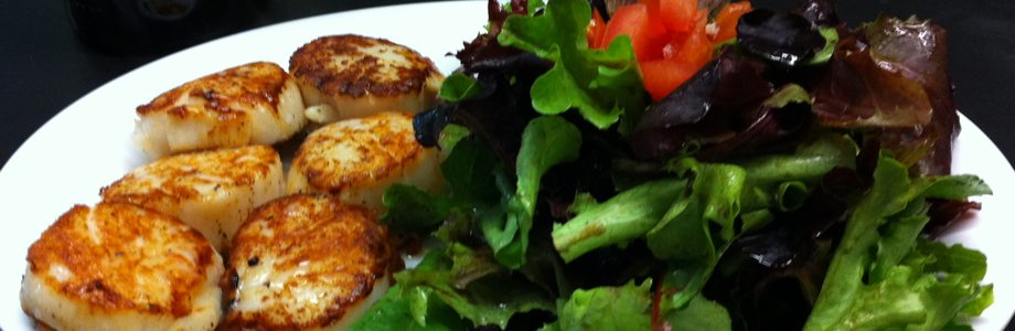 Seattle Fish Company & Grill - Pan Seared Scallops