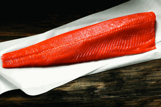Copper River Salmon Fillet