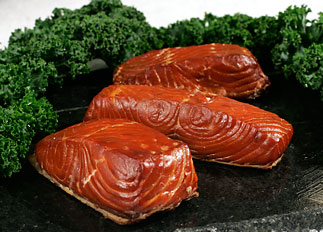 Alder-Smoked Red King Salmon